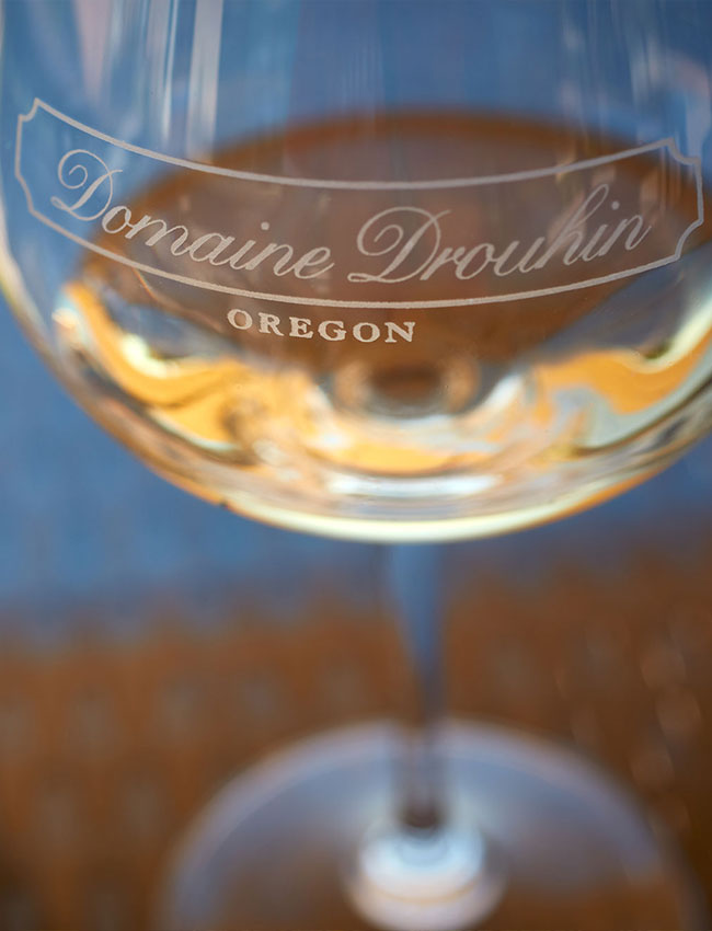 Domaine Drouhin Oregon Chardonnay glass